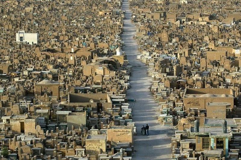 Wadi al-Salam, o mais antigo e maior cemitério do mundo