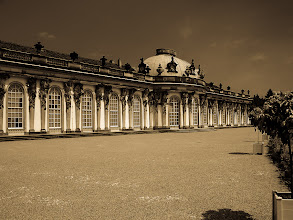 Photo: Sanssouci  Good morning G+,  +Jules Falk Hunterand the great +#Window Wednesday-Team calls today for many windows . Okay, so many are here not, but you should know the history about this place: Sanssouci is the name of the former summer palace of Frederick the Great, King of Prussia, in Potsdam, near Berlin, Germany. More information you can get here: http://en.wikipedia.org/wiki/Sanssouci  I wish you all a sunny day!  #breakfastclub  #windowwednesday  #europeanphotography  #hqspnonnaturephotos  #hqspmonochrome  #10000photographersbwmonochrome