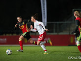 Elien Van Wynendaele van Gent Ladies doet het goed bij de Belgian Red Flames