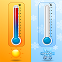 Indoor Thermometer For Room Temperature Meter Free icon