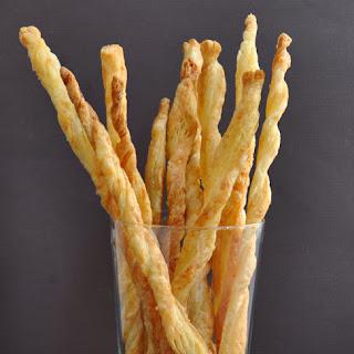 Flaky Parmesan Cheese Straws