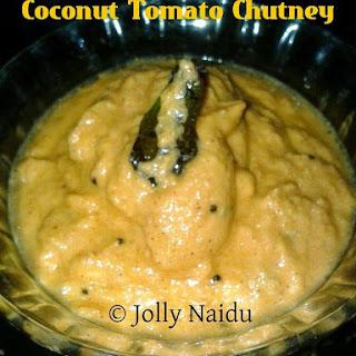 Coconut Tomato Chutney.