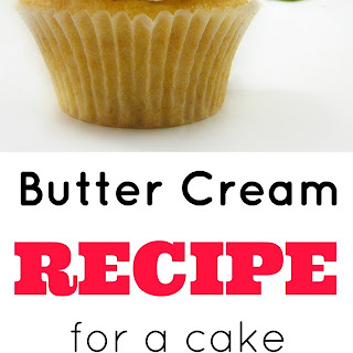 Butter Cream Recipe