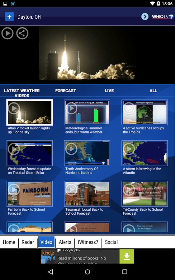 WHIO Weather- screenshot