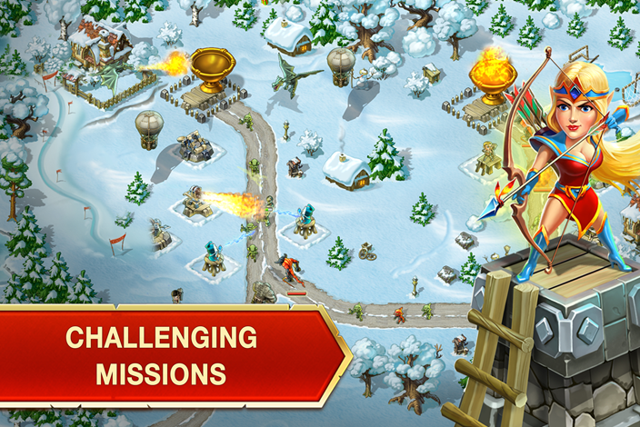 Toy Defense: Fantasy Tower TD- screenshot