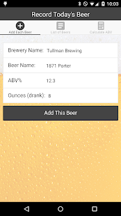 Counting Cans - Craft Beer ABV- screenshot thumbnail