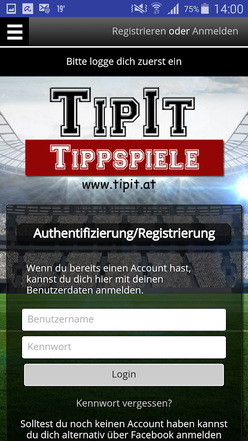 Tipit - Tippspiele- screenshot