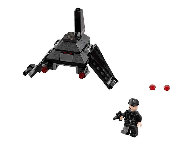 Contenido de Lego® 75163 Microfighter Imperial Shuttle™ de KrennicAC