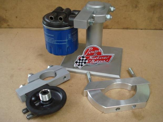 Supports de filtre à huile pour Triumph T120 et T140