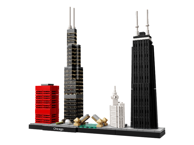 Contenido de Lego® 21033 Chicago