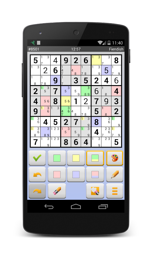 Sudoku 10'000 Plus- screenshot