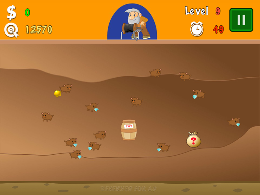 Gold Miner Classic Lite screenshot 14