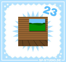 Photo: Only two updates are left in the www.sp-studio.de Christmas Special! Today I included a cabin / treehouse background with wooden walls. This was a wish by one of my visitors.