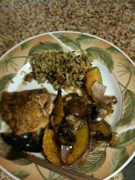 Roasted Rosemary Chicken & Veggies Recipe