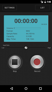 PCM Recorder Pro- screenshot thumbnail