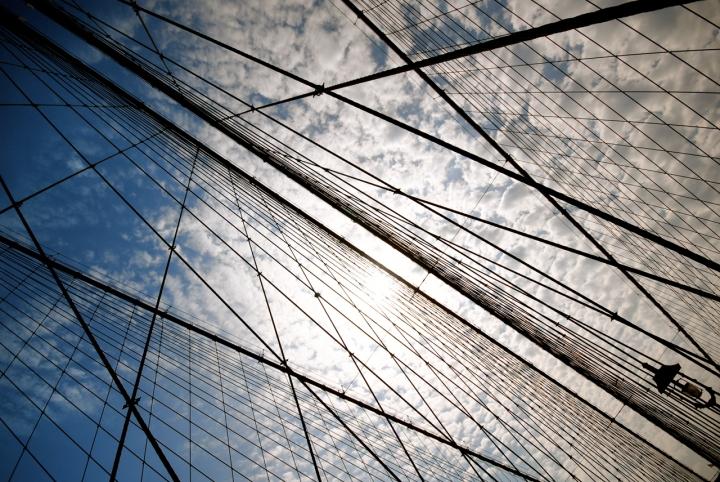 Rette sul cielo di New York di onelorca