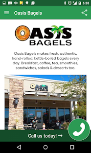Oasis Bagels- screenshot thumbnail