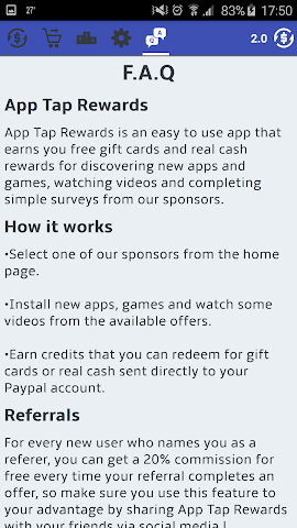 android App Tap Rewards Screenshot 3
