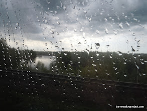 Photo: View from the train