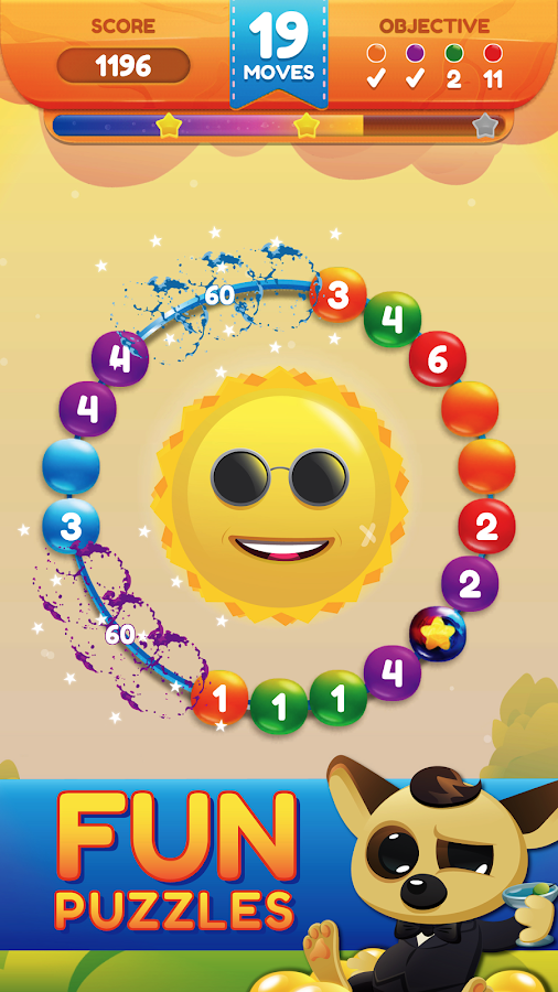 Circle Sweep - Logic Puzzle!- screenshot