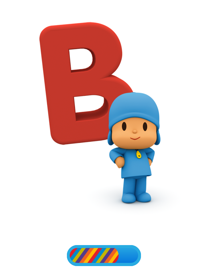 Pocoyo Alphabet Free- screenshot