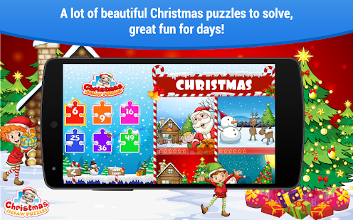 Christmas games 🎅 Puzzles for kids Girls and Boys- screenshot thumbnail