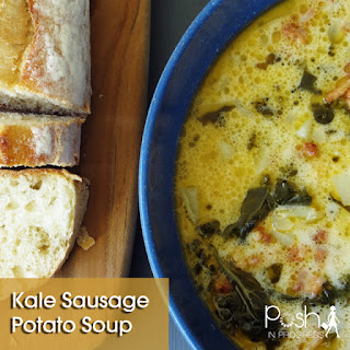 Kale Sausage Potato Soup