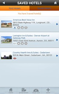 Vantage Hotels- screenshot thumbnail