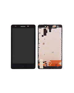 Lumia 1030 display with frame Black