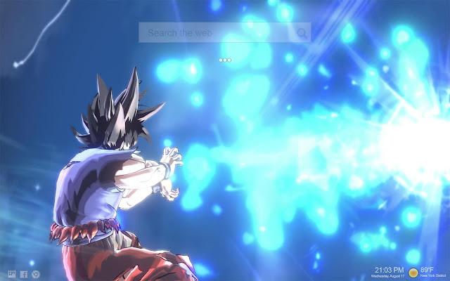 Ultra Instinct Goku Wallpaper Hd New Tab