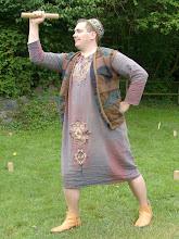 Photo: Nepomuk übt schon mal die athletische Pose.