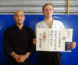 Photo: 2nd Dan in Aikido Aikikai Ilya - Aikido instructor in Kharkov dojo (Ukraine) http://nishiobudo.org.ua/en_dojo_kharkov.html Member of Yufukan Japan Foundation (YJF) http://www.yufukan.com/