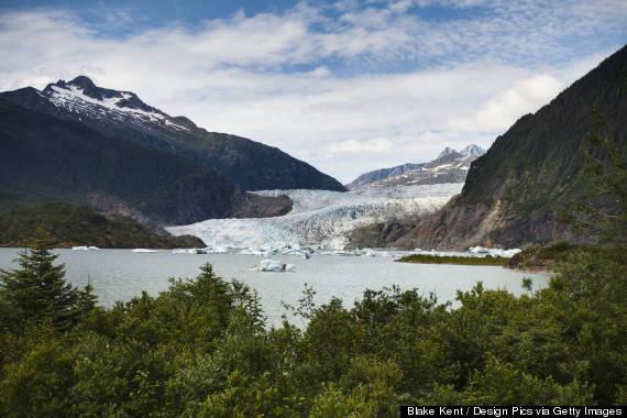 """Du ngoạn """"cánh đồng băng"""" ở Juneau"""