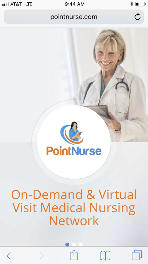 PointNurse - Virtual Care App- screenshot