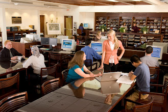 Photo: Park Library (Photo by Steve Exum)