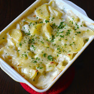 Scalloped Potato With Milk Recipes