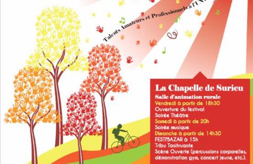 Affiche Festi'Cloches 2014 - création SAKANA communication