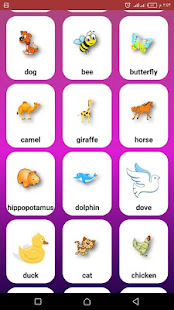 Download English learning for kids by sounds and pics For PC Windows and Mac apk screenshot 7