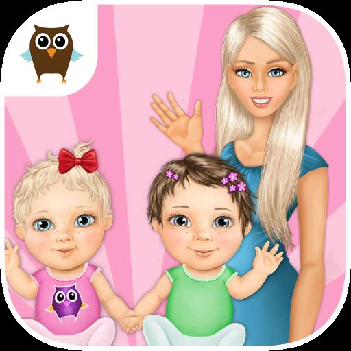 Sweet Baby Girl Twin Care FULL