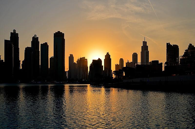 Sunset in Dubai di AntoMarPh