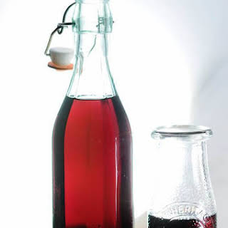 Hibiscus Simple Syrup.
