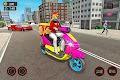 screenshot of Moto Bike Pizza Delivery – Girl Food Game
