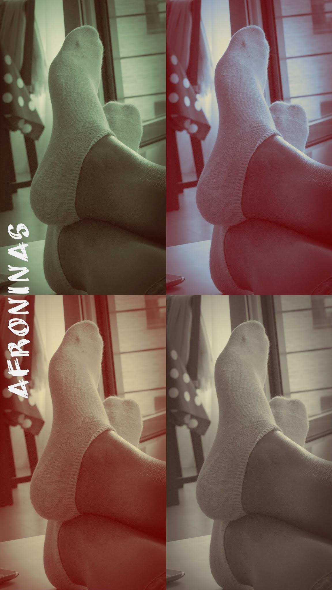 Photo: Descansa de los calcetines