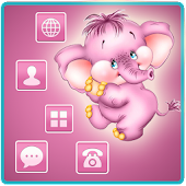 Elephant Pink Lovely