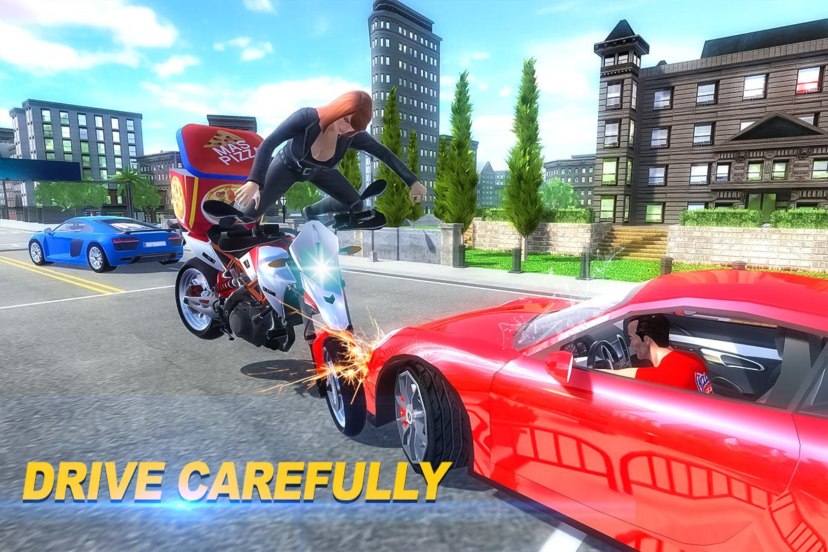Moto Pizza Delivery- screenshot