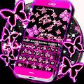 Neon Butterflies Keyboard download