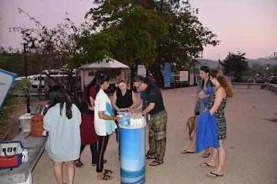 Check-in at the Sea Eagle counter at Nopparat Thara Pier