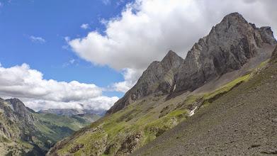 Photo: A mi izquierda el Pico Royo desde el collado de Chistau