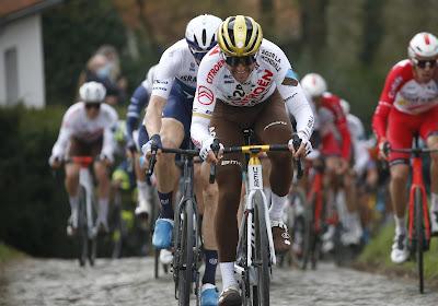 """Van Avermaet wijt het terugkeren van een groot pak renners aan bepaalde factor: """"Moeilijk om het verschil te maken"""""""