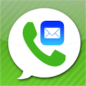 MailFon free calls & email icon